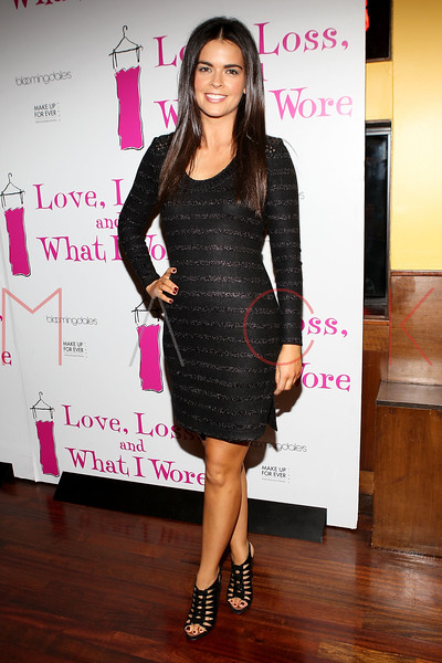 "NEW YORK, NY - JANUARY 05:  Katie Lee attends the ""Love, Loss, And What I Wore"" new cast member celebration at B Smith's Restaurant on January 5, 2012 in New York City.  (Photo by Steve Mack/S.D. Mack Pictures)"
