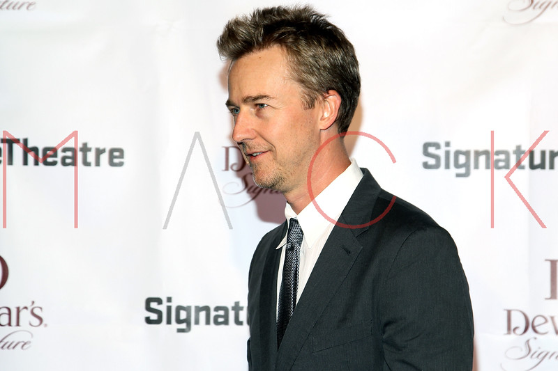 NEW YORK, NY - JANUARY 30:  Edward Norton attends The Signature Center Opening gala on January 30, 2012 in New York City.  (Photo by Steve Mack/S.D. Mack Pictures)
