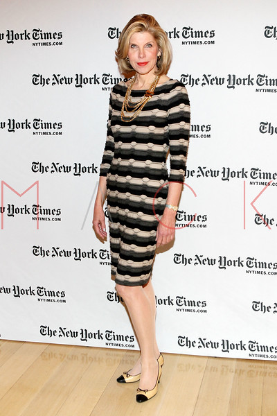 NEW YORK, NY - JANUARY 06:  Christine Baranski attends the New York Times TimesTalk during the 2012 NY Times Arts & Leisure weekend at The Times Center on January 6, 2012 in New York City.  (Photo by Steve Mack/S.D. Mack Pictures)