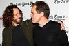 NEW YORK, NY - JANUARY 07:  Chris Cornell and Michael Shannon attend the New York Times TimesTalk during the 2012 NY Times Arts & Leisure weekend at The Times Center on January 7, 2012 in New York City.  (Photo by Steve Mack/S.D. Mack Pictures)