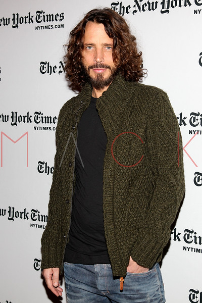 NEW YORK, NY - JANUARY 07:  Chris Cornell attends the New York Times TimesTalk during the 2012 NY Times Arts & Leisure weekend at The Times Center on January 7, 2012 in New York City.  (Photo by Steve Mack/S.D. Mack Pictures)