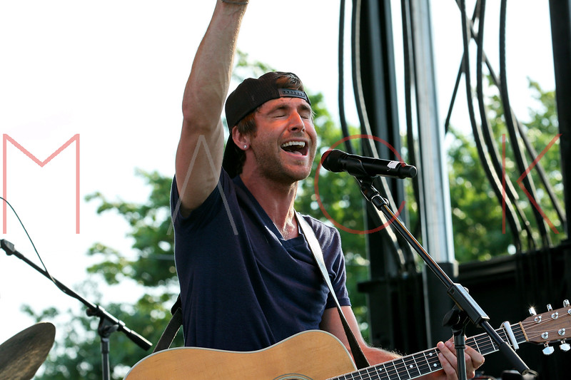 NEW YORK, NY - JULY 01:  Canaan Smith performs during a free Independence Day concert and fireworks display at 101st Street and Ft. Hamilton Parkway on July 1, 2012 in the Brooklyn borough of New York City.  (Photo by Steve Mack/S.D. Mack Pictures)