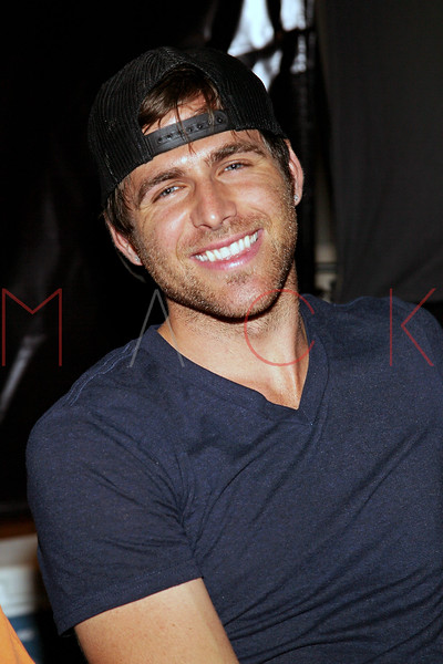 NEW YORK, NY - JULY 01:  Canaan Smith attends the meet and greet during a free Independence Day concert and fireworks display at 101st Street and Ft. Hamilton Parkway on July 1, 2012 in the Brooklyn borough of New York City.  (Photo by Steve Mack/S.D. Mack Pictures)