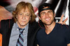 NEW YORK, NY - JULY 01:  Eddie Money and Canaan Smith attend a meet and greet during a free Independence Day concert and fireworks display at 101st Street and Ft. Hamilton Parkway on July 1, 2012 in the Brooklyn borough of New York City.  (Photo by Steve Mack/S.D. Mack Pictures)
