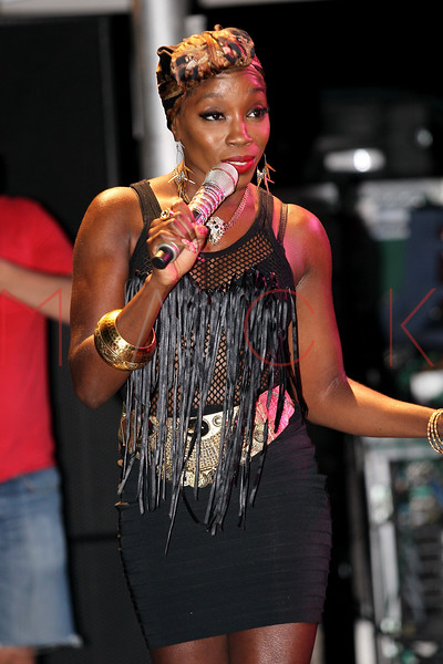 NEW YORK, NY - JULY 01:  Estelle performs during a free Independence Day concert and fireworks display at 101st Street and Ft. Hamilton Parkway on July 1, 2012 in the Brooklyn borough of New York City.  (Photo by Steve Mack/S.D. Mack Pictures)
