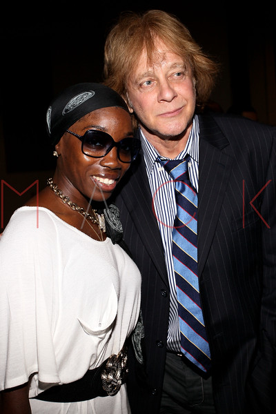 NEW YORK, NY - JULY 01:  Estelle and Eddie Money attend a meet and greet during a free Independence Day concert and fireworks display at 101st Street and Ft. Hamilton Parkway on July 1, 2012 in the Brooklyn borough of New York City.  (Photo by Steve Mack/S.D. Mack Pictures)