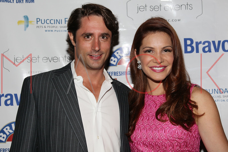 "NEW YORK, NY - JULY 23:  Prince Lorenzo Borghese and Julia Allison attend the ""Miss Advised"" viewing party at Scarlet Lounge on July 23, 2012 in New York City.  (Photo by Steve Mack/S.D. Mack Pictures)"