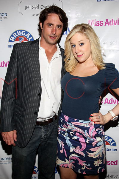 """NEW YORK, NY - JULY 23:  Prince Lorenzo Borghese and Amy Poliakoff attend the """"Miss Advised"""" viewing party at Scarlet Lounge on July 23, 2012 in New York City.  (Photo by Steve Mack/S.D. Mack Pictures)"""