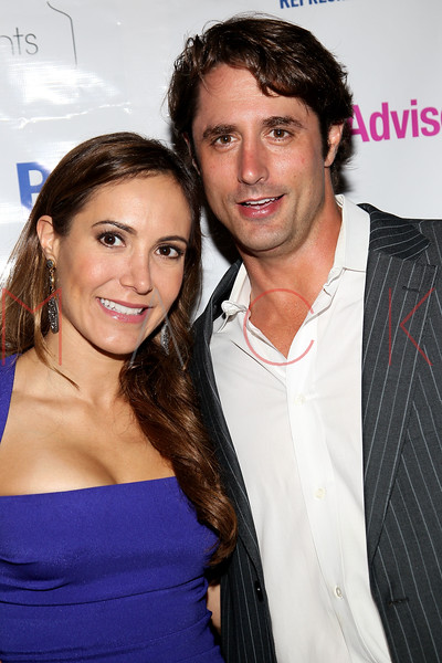 "NEW YORK, NY - JULY 23:  Amy Laurent and Prince Lorenzo Borghese attend the ""Miss Advised"" viewing party at Scarlet Lounge on July 23, 2012 in New York City.  (Photo by Steve Mack/S.D. Mack Pictures)"