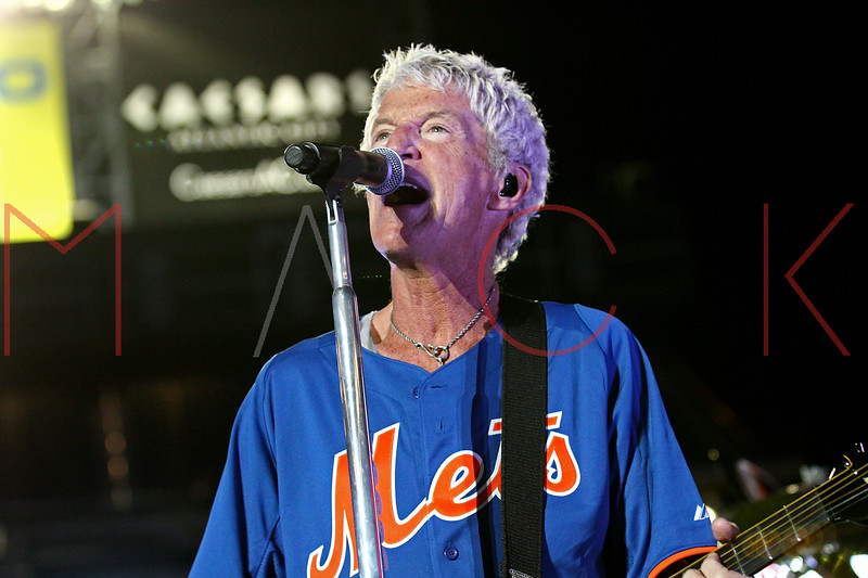 NEW YORK, NY - JUNE 15:  Kevin Cronin performs during the New York Mets Summer Concert Series at Citi Field on June 15, 2012 in New York City.  (Photo by Steve Mack/S.D. Mack Pictures)