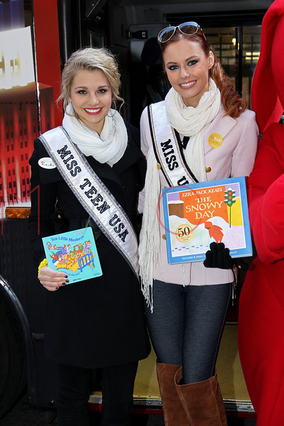 New York - March 07: Danielle Dotty, Alyssa Campanella in attendance at the 2012 Annual World Read Out Loud Day at Books of Wonder on Wednesday, March 7, 2012 in New York, NY.  (Photo by Steve Mack/S.D. Mack Pictures)
