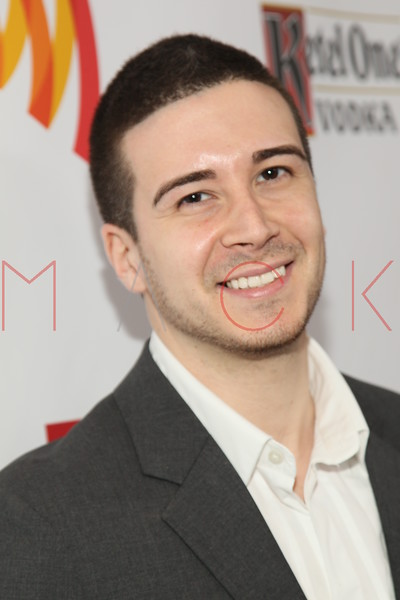 New York, NY - March 24: Vinny Guadagnino at the 23rd Annual GLAAD Media Awards in the Marriott Hotel on Saturday, March 24, 2012 in New York, NY.  (Photo by Steve Mack/S.D. Mack Pictures)