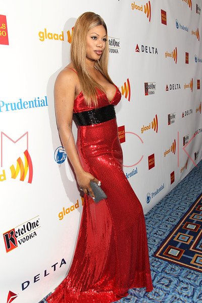 New York, NY - March 24: Laverne Cox at the 23rd Annual GLAAD Media Awards in the Marriott Hotel on Saturday, March 24, 2012 in New York, NY.  (Photo by Steve Mack/S.D. Mack Pictures)
