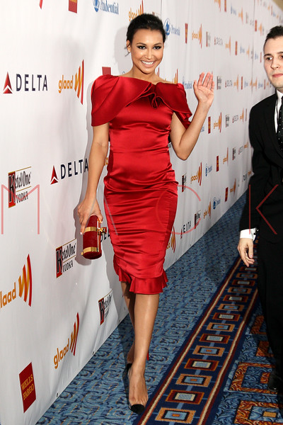 New York, NY - March 24: Naya Rivera at the 23rd Annual GLAAD Media Awards in the Marriott Hotel on Saturday, March 24, 2012 in New York, NY.  (Photo by Steve Mack/S.D. Mack Pictures)