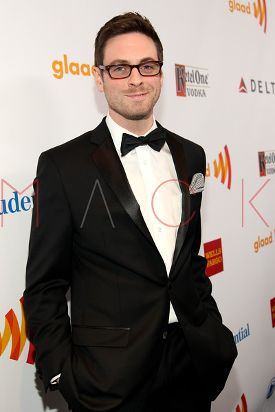 New York, NY - March 24: Trapper Felides at the 23rd Annual GLAAD Media Awards in the Marriott Hotel on Saturday, March 24, 2012 in New York, NY.  (Photo by Steve Mack/S.D. Mack Pictures)