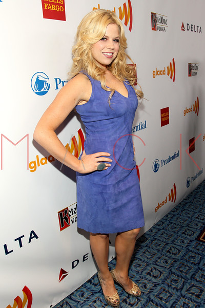 New York, NY - March 24: Megan Hilty at the 23rd Annual GLAAD Media Awards in the Marriott Hotel on Saturday, March 24, 2012 in New York, NY.  (Photo by Steve Mack/S.D. Mack Pictures)