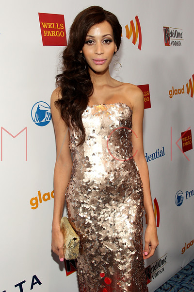 New York, NY - March 24: Isis King at the 23rd Annual GLAAD Media Awards in the Marriott Hotel on Saturday, March 24, 2012 in New York, NY.  (Photo by Steve Mack/S.D. Mack Pictures)