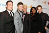 New York, NY - March 24: Peter Depp, Jared Allman, Tenisha Jackson, Shane Stevens, Brent Young at the 23rd Annual GLAAD Media Awards in the Marriott Hotel on Saturday, March 24, 2012 in New York, NY.  (Photo by Steve Mack/S.D. Mack Pictures)