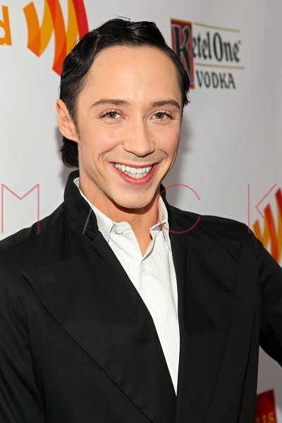 New York, NY - March 24: Johnny Weir at the 23rd Annual GLAAD Media Awards in the Marriott Hotel on Saturday, March 24, 2012 in New York, NY.  (Photo by Steve Mack/S.D. Mack Pictures)