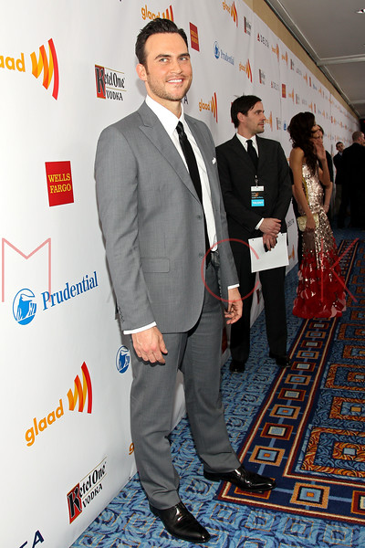 New York, NY - March 24: Cheyenne Jackson at the 23rd Annual GLAAD Media Awards in the Marriott Hotel on Saturday, March 24, 2012 in New York, NY.  (Photo by Steve Mack/S.D. Mack Pictures)