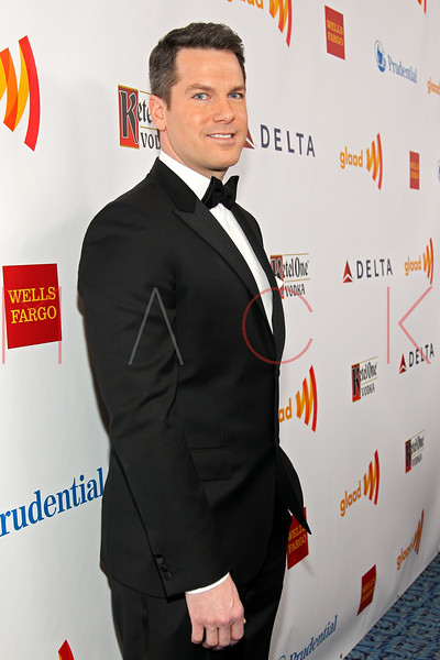 New York, NY - March 24: Thomas Roberts at the 23rd Annual GLAAD Media Awards in the Marriott Hotel on Saturday, March 24, 2012 in New York, NY.  (Photo by Steve Mack/S.D. Mack Pictures)
