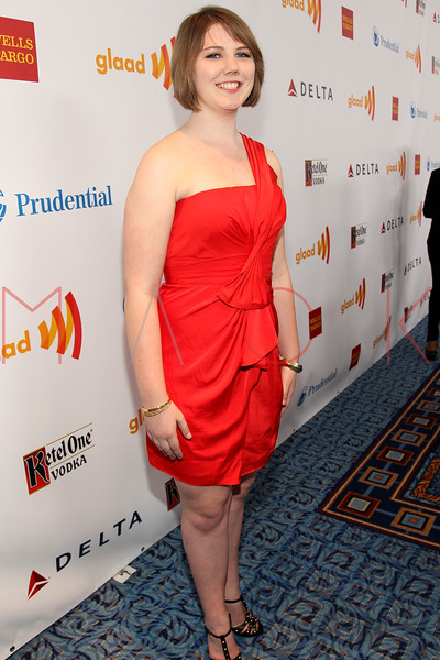 New York, NY - March 24: Katy Butler at the 23rd Annual GLAAD Media Awards in the Marriott Hotel on Saturday, March 24, 2012 in New York, NY.  (Photo by Steve Mack/S.D. Mack Pictures)