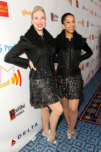 New York, NY - March 24: The Rockettes at the 23rd Annual GLAAD Media Awards in the Marriott Hotel on Saturday, March 24, 2012 in New York, NY.  (Photo by Steve Mack/S.D. Mack Pictures)