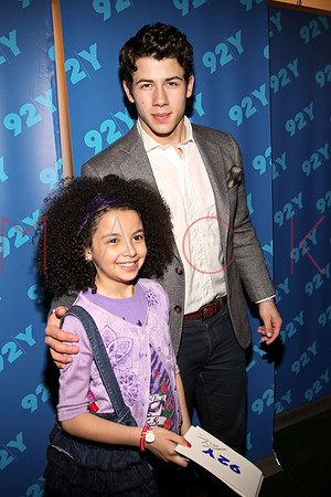 NEW YORK, NY - MARCH 04:  Broadway Talks Conversations with Nick Jonas at the 92nd Street Y on March 4, 2012 in New York City.