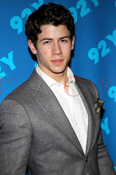 NEW YORK, NY - MARCH 04:  Nick Jonas attends Broadway Talks Conversations with Nick Jonas at the 92nd Street Y on March 4, 2012 in New York City.  (Photo by Steve Mack/S.D. Mack Pictures)