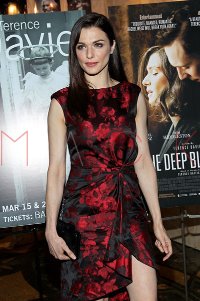 Brooklyn, NY - March 15: Rachel Weisz at THE DEEP BLUE SEA Premiere at BAM Rose Cinemas on Thursday, March 15, 2012 in Brooklyn, NY.  (Photo by Steve Mack/S.D. Mack Pictures)