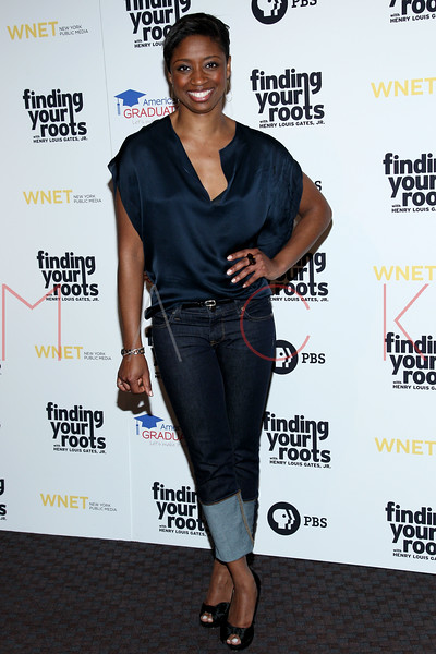 New York, NY - March 19: Montego Glover at FINDING YOUR ROOTS Premiere Screening at Frederick P. Rose Hall, Jazz at Lincoln Center on Monday, March 19, 2012 in New York, NY.  (Photo by Steve Mack/S.D. Mack Pictures)