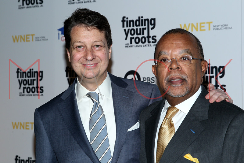 New York, NY - March 19: Neal Shapiro, Henry Louis Gates Jr. at FINDING YOUR ROOTS Premiere Screening at Frederick P. Rose Hall, Jazz at Lincoln Center on Monday, March 19, 2012 in New York, NY.  (Photo by Steve Mack/S.D. Mack Pictures)