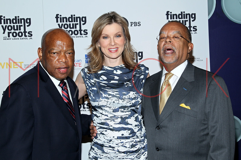 New York, NY - March 19: John Lewis, Jodi Applegate, Henry Louis Gates Jr. at FINDING YOUR ROOTS Premiere Screening at Frederick P. Rose Hall, Jazz at Lincoln Center on Monday, March 19, 2012 in New York, NY.  (Photo by Steve Mack/S.D. Mack Pictures)