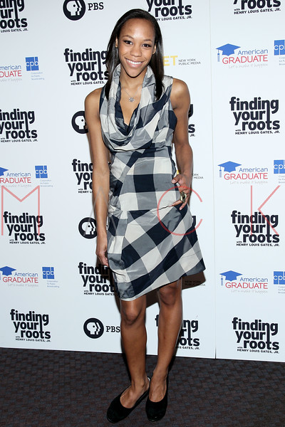 New York, NY - March 19: Nikki M. James at FINDING YOUR ROOTS Premiere Screening at Frederick P. Rose Hall, Jazz at Lincoln Center on Monday, March 19, 2012 in New York, NY.  (Photo by Steve Mack/S.D. Mack Pictures)