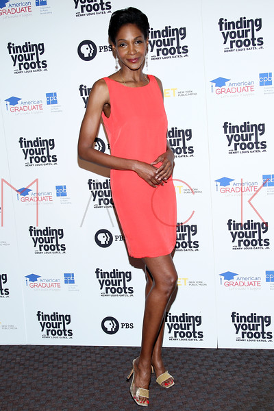 New York, NY - March 19: Roshumba Williams at FINDING YOUR ROOTS Premiere Screening at Frederick P. Rose Hall, Jazz at Lincoln Center on Monday, March 19, 2012 in New York, NY.  (Photo by Steve Mack/S.D. Mack Pictures)