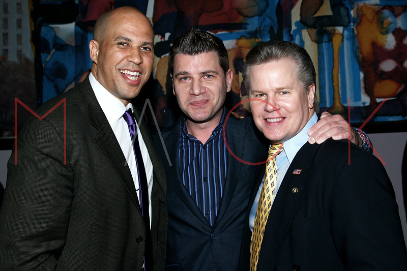 New York, NY - March 19: Cory Booker, Tom Murro,  at FINDING YOUR ROOTS Premiere Screening at Frederick P. Rose Hall, Jazz at Lincoln Center on Monday, March 19, 2012 in New York, NY.  (Photo by Steve Mack/S.D. Mack Pictures)