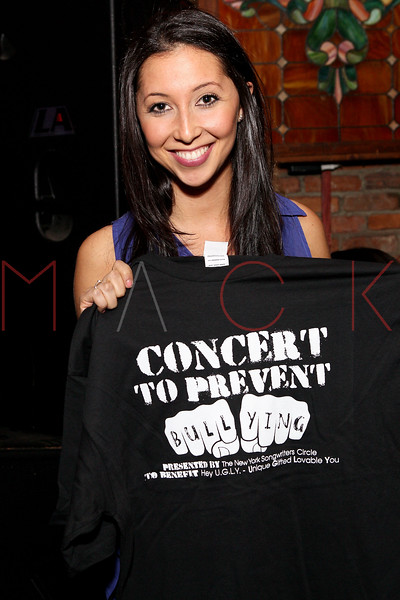 NEW YORK, NY - MARCH 05:  Alisha Zalkin attends the Hey U.G.L.Y. Foundation Benefit Concert Presented by New York Songwriters Circle at The Bitter End on March 5, 2012 in New York City.  (Photo by Steve Mack/S.D. Mack Pictures)
