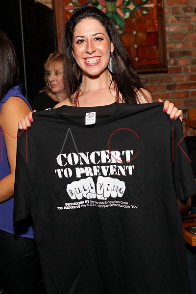 NEW YORK, NY - MARCH 05:  Devyn Rush attends the Hey U.G.L.Y. Foundation Benefit Concert Presented by New York Songwriters Circle at The Bitter End on March 5, 2012 in New York City.  (Photo by Steve Mack/S.D. Mack Pictures)