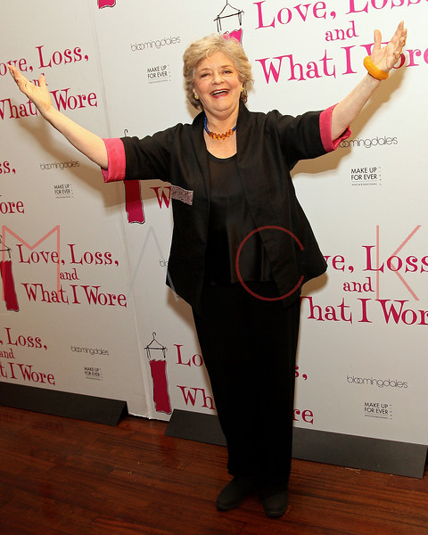 "NEW YORK, NY - MARCH 01:  Actress Joyce van Patten attends the ""Love, Loss and What I Wore"" final cast change celebration at B. Smith's Restaurant on March 1, 2012 in New York City.  (Photo by Steve Mack/Getty Images)"