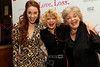 "NEW YORK, NY - MARCH 01:  Actresses Sierra Bogges, Karyn Quackenbush and Joyce van Patten attend the ""Love, Loss and What I Wore"" final cast change celebration at B. Smith's Restaurant on March 1, 2012 in New York City.  (Photo by Steve Mack/Getty Images)"