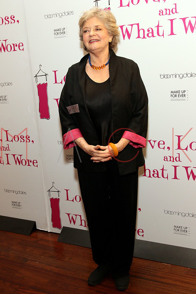 """NEW YORK, NY - MARCH 01:  Actress Joyce van Patten attends the """"Love, Loss and What I Wore"""" final cast change celebration at B. Smith's Restaurant on March 1, 2012 in New York City.  (Photo by Steve Mack/Getty Images)"""