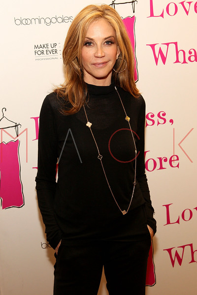 """NEW YORK, NY - MARCH 01:  Actress Ally Walker attends the """"Love, Loss and What I Wore"""" final cast change celebration at B. Smith's Restaurant on March 1, 2012 in New York City.  (Photo by Steve Mack/Getty Images)"""