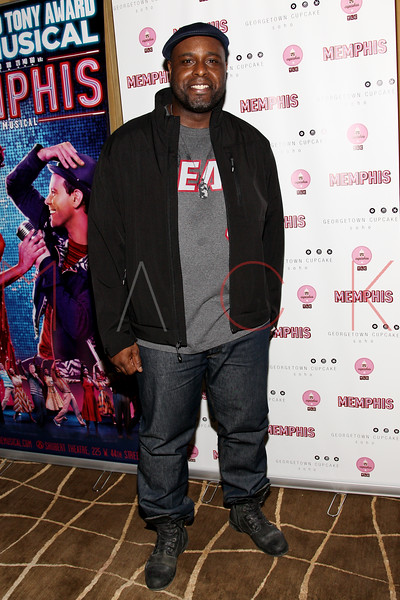 New York, NY - March 14: J. Bernard Calloway at Celebration of MEMPHIS' 1000th Performance On Broadway at 48 Lounge on Wednesday, March 14, 2012 in New York, NY.  (Photo by Steve Mack/S.D. Mack Pictures)