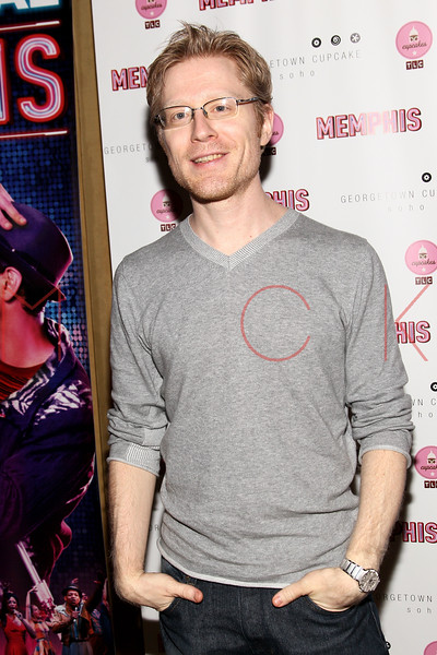 New York, NY - March 14: Anthony Rapp at Celebration of MEMPHIS' 1000th Performance On Broadway at 48 Lounge on Wednesday, March 14, 2012 in New York, NY.  (Photo by Steve Mack/S.D. Mack Pictures)