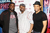 New York, NY - March 14: J. Bernard Calloway, James Monroe Iglehart, Derrick Baskin at Celebration of MEMPHIS' 1000th Performance On Broadway at 48 Lounge on Wednesday, March 14, 2012 in New York, NY.  (Photo by Steve Mack/S.D. Mack Pictures)