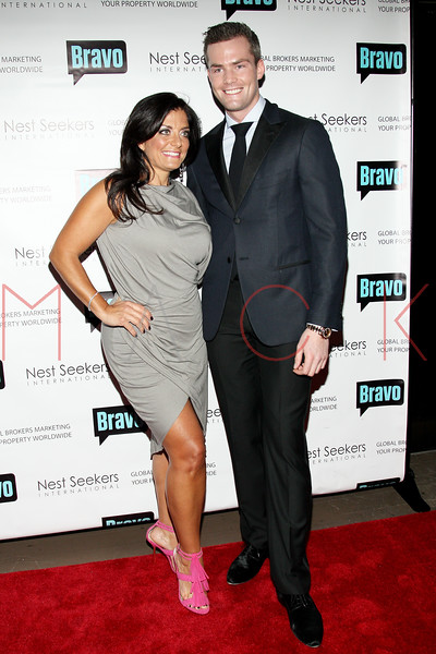 New York, NY - March 02: Kathy Wakile, Ryan Serhant at the 'Million Dollar Listing New York' premiere at Catch Roof on Friday, March 2, 2012 in New York, NY.  (Photo by Steve Mack/S.D. Mack Pictures)