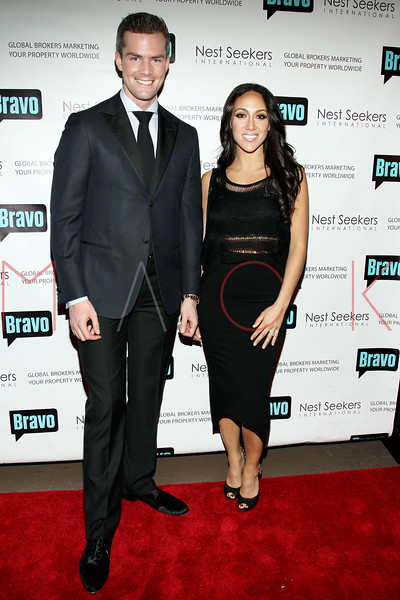 New York, NY - March 02: Ryan Serhant, Melissa Gorga at the 'Million Dollar Listing New York' premiere at Catch Roof on Friday, March 2, 2012 in New York, NY.  (Photo by Steve Mack/S.D. Mack Pictures)