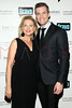 New York, NY - March 02: Pamela Morgan, Ryan Serhant at the 'Million Dollar Listing New York' premiere at Catch Roof on Friday, March 2, 2012 in New York, NY.  (Photo by Steve Mack/S.D. Mack Pictures)