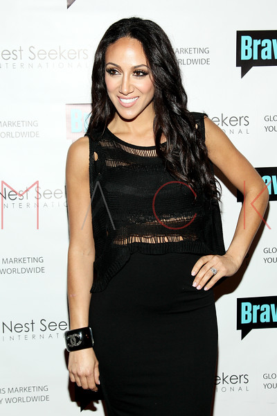 New York, NY - March 02: Melissa Gorga at the 'Million Dollar Listing New York' premiere at Catch Roof on Friday, March 2, 2012 in New York, NY.  (Photo by Steve Mack/S.D. Mack Pictures)