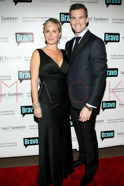 New York, NY - March 02: Sonja Morgan, Ryan Serhant at the 'Million Dollar Listing New York' premiere at Catch Roof on Friday, March 2, 2012 in New York, NY.  (Photo by Steve Mack/S.D. Mack Pictures)